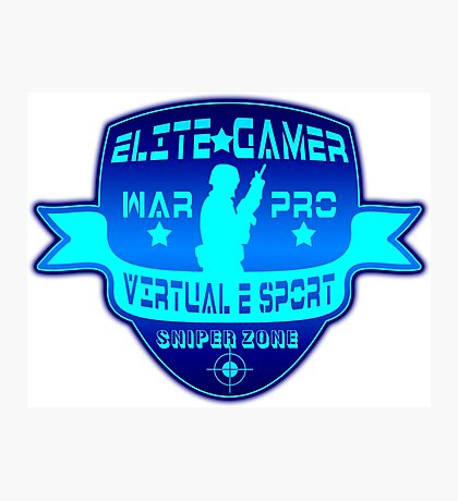 Elite Gamer  Photographic Print