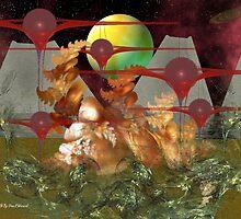 Alien Flora by Dean Warwick