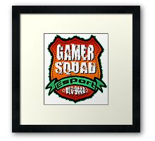 Gamer Squad  Framed Print