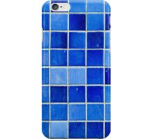 Blue Wall Tiles iPhone Case/Skin