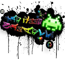 Geek Art Invaders by extracom