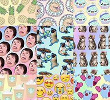 Pastel Tumblr by Tom van den Berg
