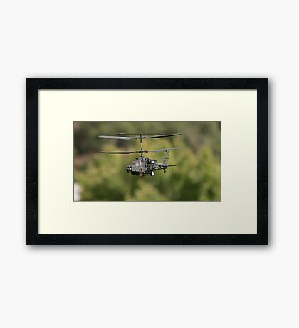 Attack. Framed Print