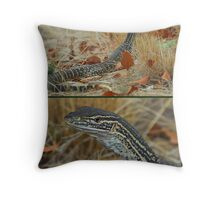 Sand Monitor Throw Pillow