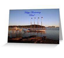 Happy Anniversary Dear! Greeting Card