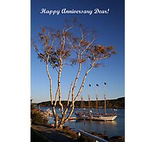 Happy Anniversary Dear! Photographic Print
