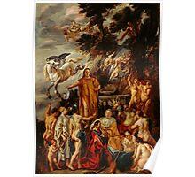 Jacob Jordaens - Allegory of the Poet Poster