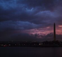 Storm brewing over Washington...... by Bine