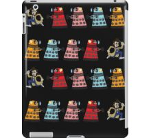 Doctor Who stuck in pac man iPad Case/Skin