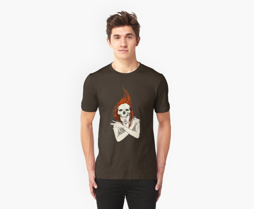 Death Tshirt by Eevien Tan