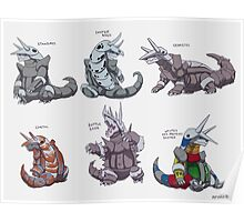 Aggron variations Poster