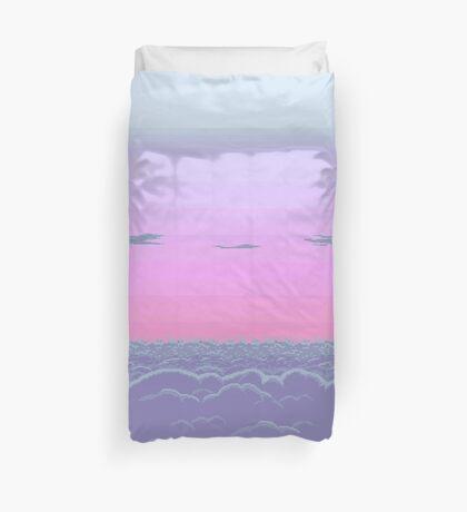 Pixel dusk Duvet Cover