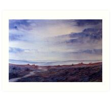 Full Circle - Twilight on the Moors Art Print