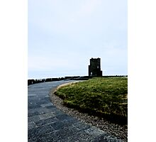 Cliffs of Moher Castle Photographic Print