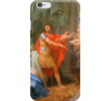 Jacques-Antoine Beaufort - The Oath of Brutus iPhone Case/Skin