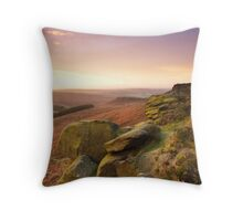 Dawn Breaking from Higger Tor Throw Pillow