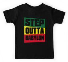 STEP OUTTA BABYLON Kids Tee