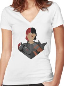 The Shepard and The Hawke Women's Fitted V-Neck T-Shirt
