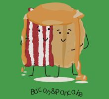 Bacon and Pancake = best friends One Piece - Short Sleeve