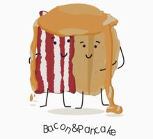 Bacon and Pancake = best friends Kids Clothes