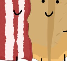 Bacon and Pancake = best friends Sticker