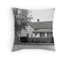 Souvenir Photo Studio Throw Pillow