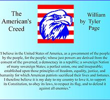 The American's Creed by William Tyler Page by Dave Moilanen