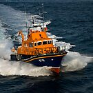 Lerwick lifeboat by Terry Mooney