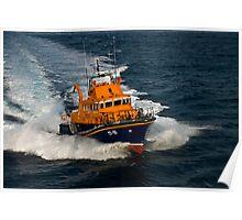 Lerwick lifeboat Poster
