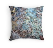 rusty, crusty.... Throw Pillow