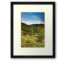 Cressbrook Dale Framed Print