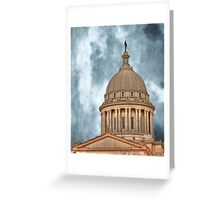 State Capital OKC, Oklahoma Greeting Card