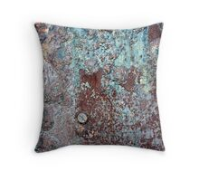 Napoleonic Rust Throw Pillow