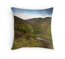 Autumnal Cressbrook Dale Throw Pillow