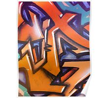 Abstract Wall Graffiti... Poster