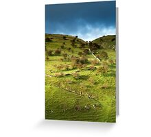 Cressbrook Dale Greeting Card