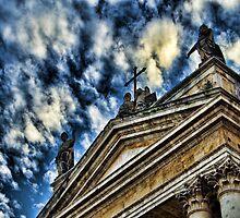 Scorcio della Chiesa di San Biagio, Catania by Andrea Rapisarda