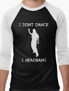 Metalheads [Black] Tshirt Men's Baseball ¾ T-Shirt