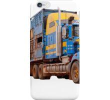 Road train, Australia iPhone Case/Skin
