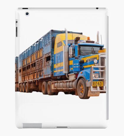 Road train, Australia iPad Case/Skin