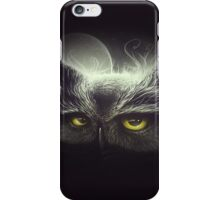 Owl & The Moon iPhone Case/Skin