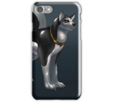 Husky transformation iPhone Case/Skin
