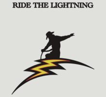 Ride the lightning Tshirt by PIAL008