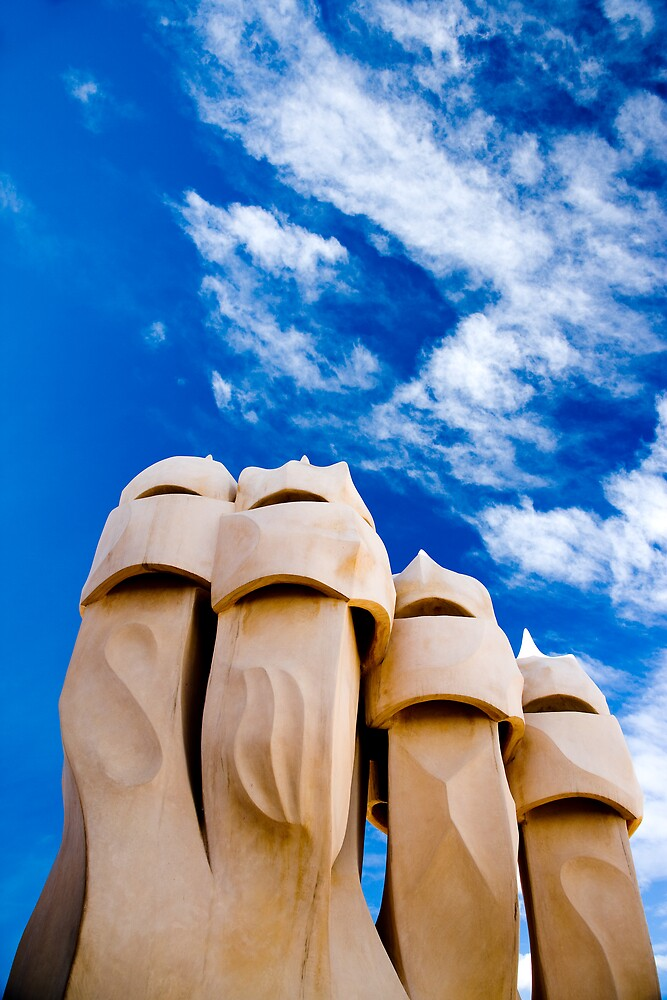 La Pedrera, Barcelona, Spain by Daniel Webb