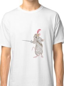 Narnia Reepicheep, the bravest of mice Classic T-Shirt