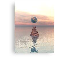 Earth Above The Sea Canvas Print