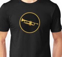 Gold Trumpet  Unisex T-Shirt