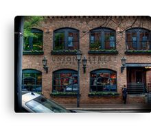 Union Street Pub Canvas Print