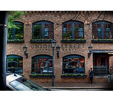 Union Street Pub Photographic Print