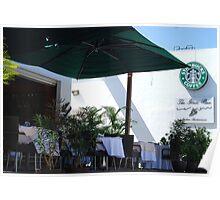 Starbucks in Mexico Poster